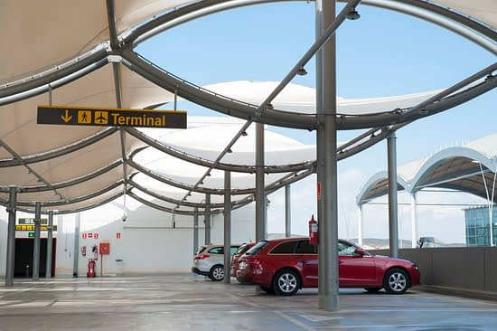 Parking - History of Alicante Airport - Elche